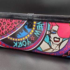 Patricia Field Rare Graffiti Clutch